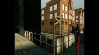 Half-Life 2 beta (leak): d1_tempcanals_02 (Part 2)
