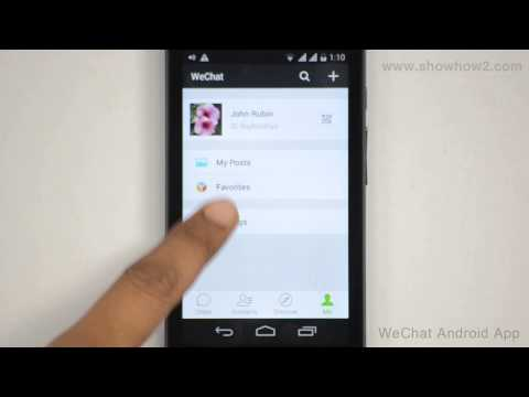 WeChat Android App - How To Backup A Chat History