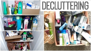 Decluttering My Life || Skincare, Haircare, Body Care Products