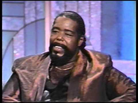 Barry White Live on Arsenio Hall  1989
