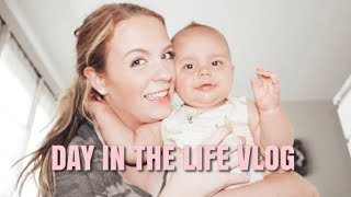 DAY IN THE LIFE OF A MOM  MOM VLOG  KATELYN JOHNSON
