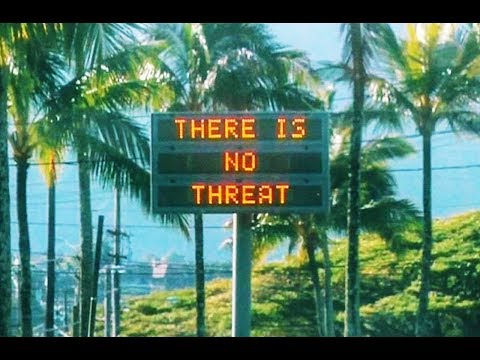 Hawaii: Oops! Sorry About That Fake Nuclear Missile Alert!