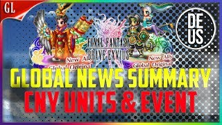 FFBE Global Video Update Summary! CNY Units! Final Fantasy Brave Exvius Global | FFBE GL