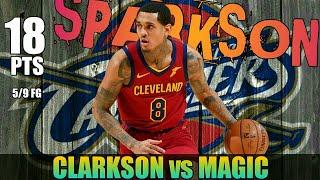 Jordan Clarkson leads Cavaliers past Orlando Magic
