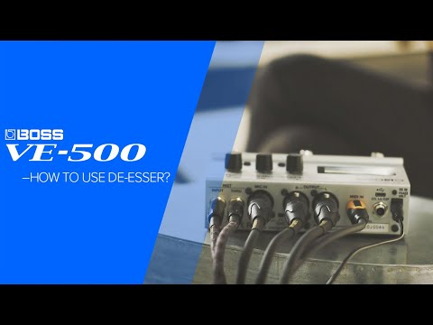 Boss VE-500 Vocal Performer | Sweetwater