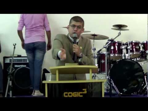 Pr. Eneas Ribeiro | COGIC MFA | As Promessas Vazias e o Verdadeiro Convite do Senhor | COGIC 3
