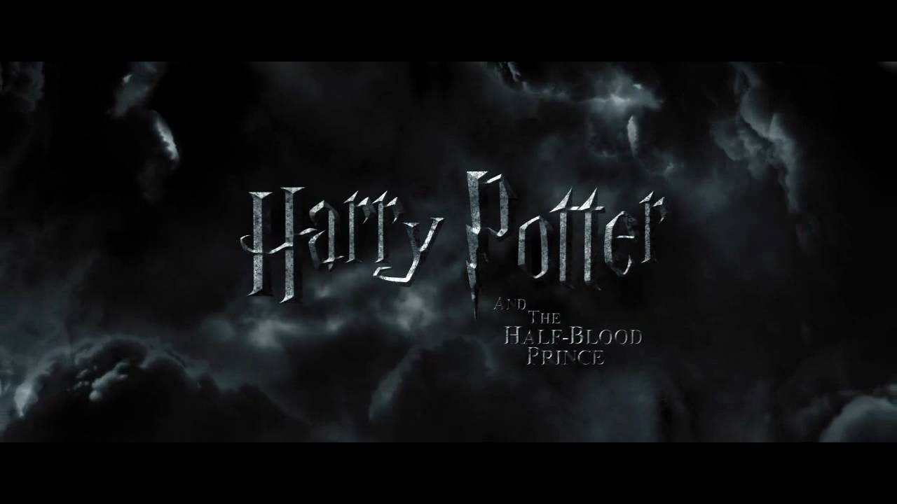 harry potter and the halfblood prince trailer titles