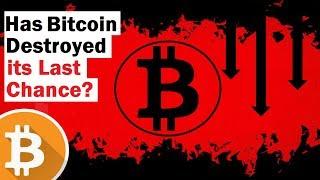 Did Bitcoin's Crash Blow Its Last Chance?