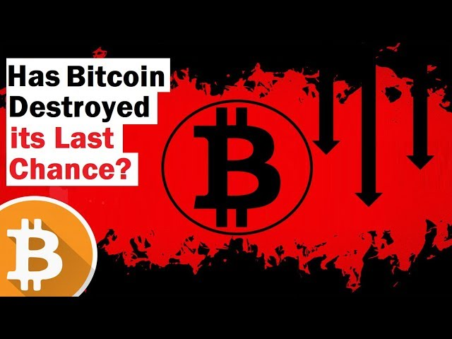 Did Bitcoin\'s Crash Blow Its Last Chance?