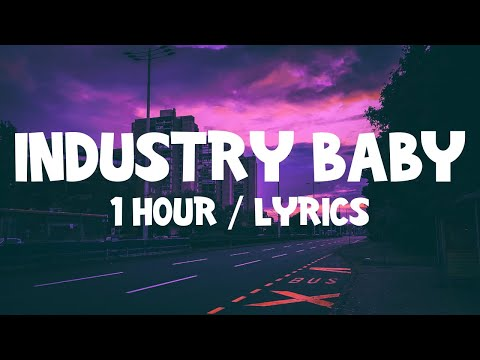 Lil Nas X – Industry Baby ft. Jack Harlow (1 Hour) With Lyrics
