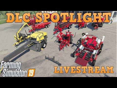 LIVE: Anderson Group DLC Spotlight On Consoles | Farming Simulator 19