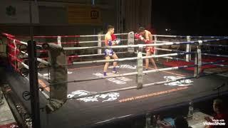 Ali Taheri Thai Boxer چرخشي توسط علي طاهري تو مسابقات سويس