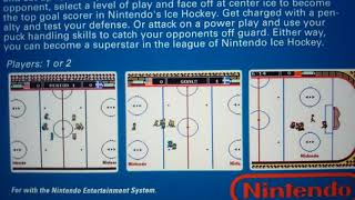 Nintendo NES Ice Hockey 1988