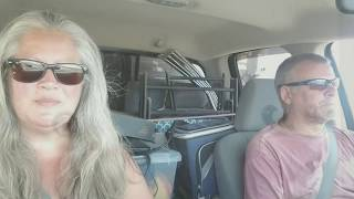 Dinosaurs, finding Free Showers, whitewater Lake Full-Time RV Living And Travel Vlog