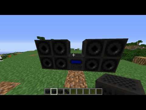 Minecraft Radio Mod 1.7.10