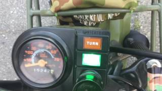 ホンダ・モトラ(ノーマル)の最高速