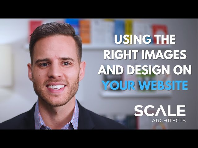 Using the right images and design on your website