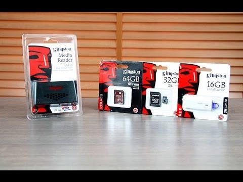 Kingston SD UHS kart, kart okuyucusu ve USB 3.0 bellek testi