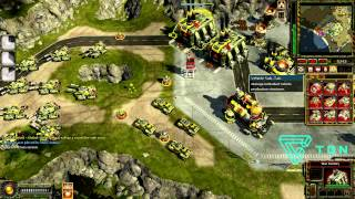 CnC Red Alert 3 Comp Stomp Online Gameplay HD #3