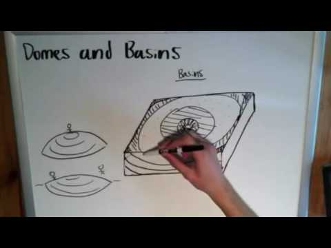 The Basics of Geology: Domes and Basins