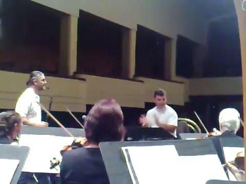 Theodosii Spassov - Gipsy Dance (Ohrid Summer Festival rehearsal)