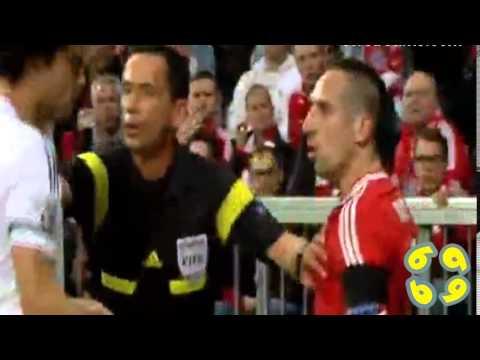 Pepe vs Franck Ribery ( Bayern Munich vs Real Madrid ) 29/04/2014 HD