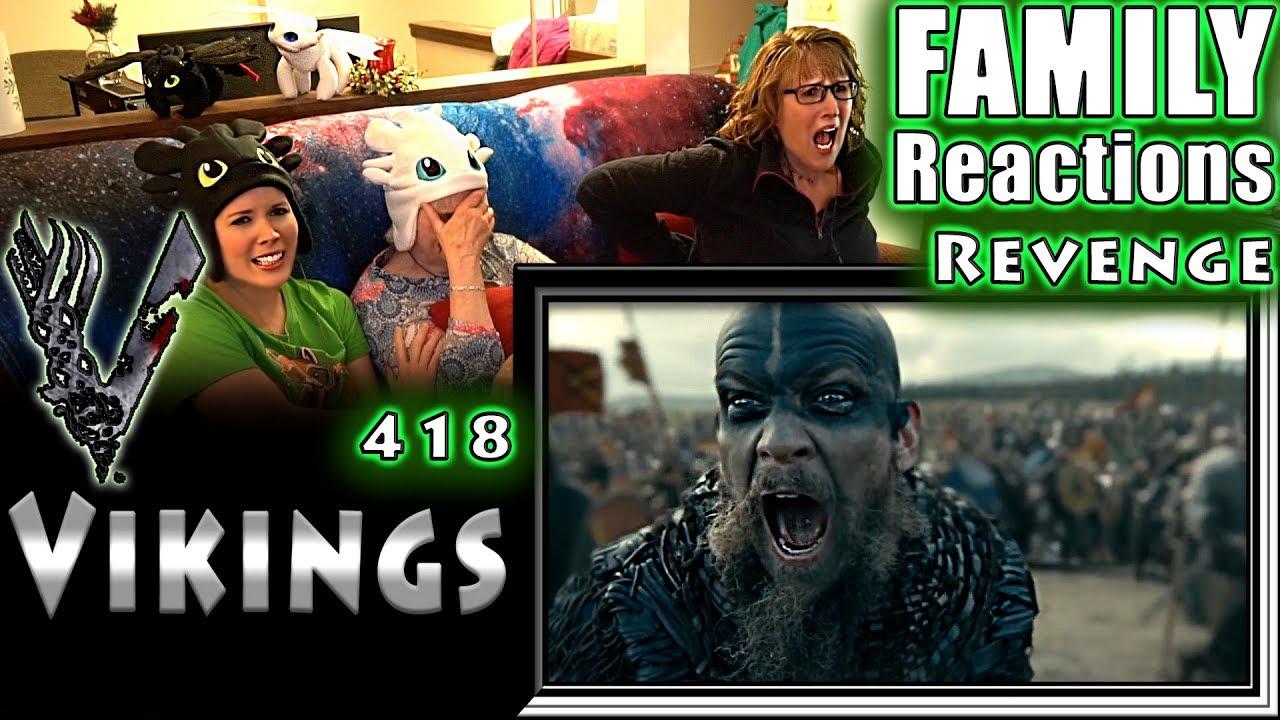 Download VIKINGS   418   Revenge   FAMILY Reactions   Fair Use