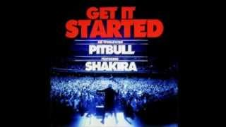 Karaoke // Pitbull - Get it started - ft Shakira