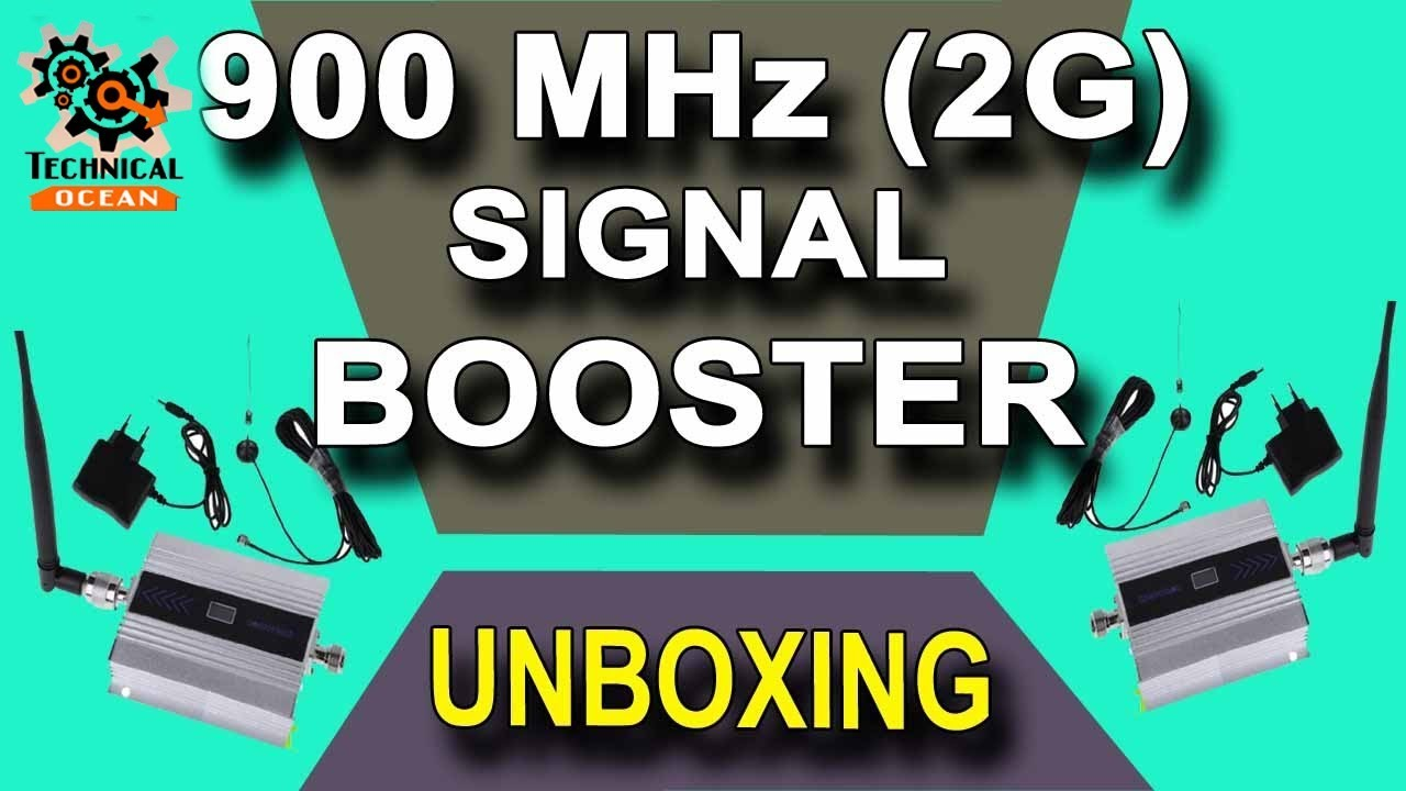 d5d598dfe61f82 Mobile Phone Signal Booster Repeater 2G 900Mhz Unboxing Technical Ocean -07