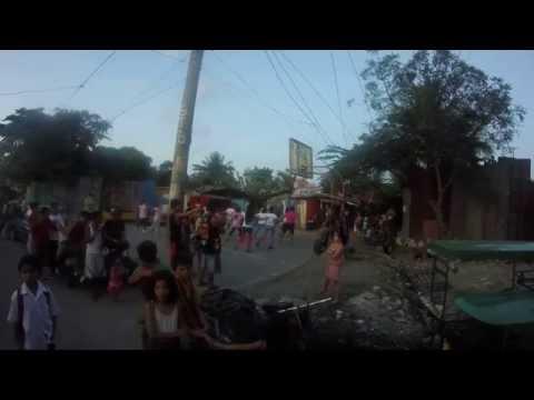 Fitness program in the slum in Tondo, Philippines
