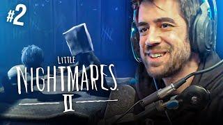 LITTLE NIGHTMARES 2 || ME ESTOY PONIENDO NERVIOSO #2