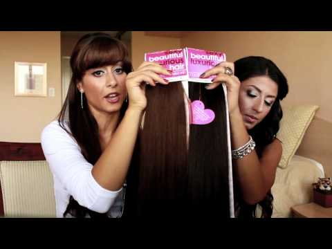 How to: Pick Your Perfect Luxy Hair Extensions Shade