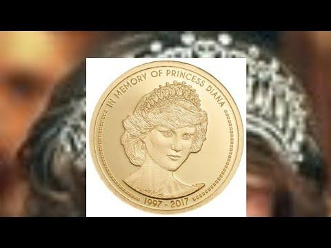 Princess Diana $5 cook islands gold