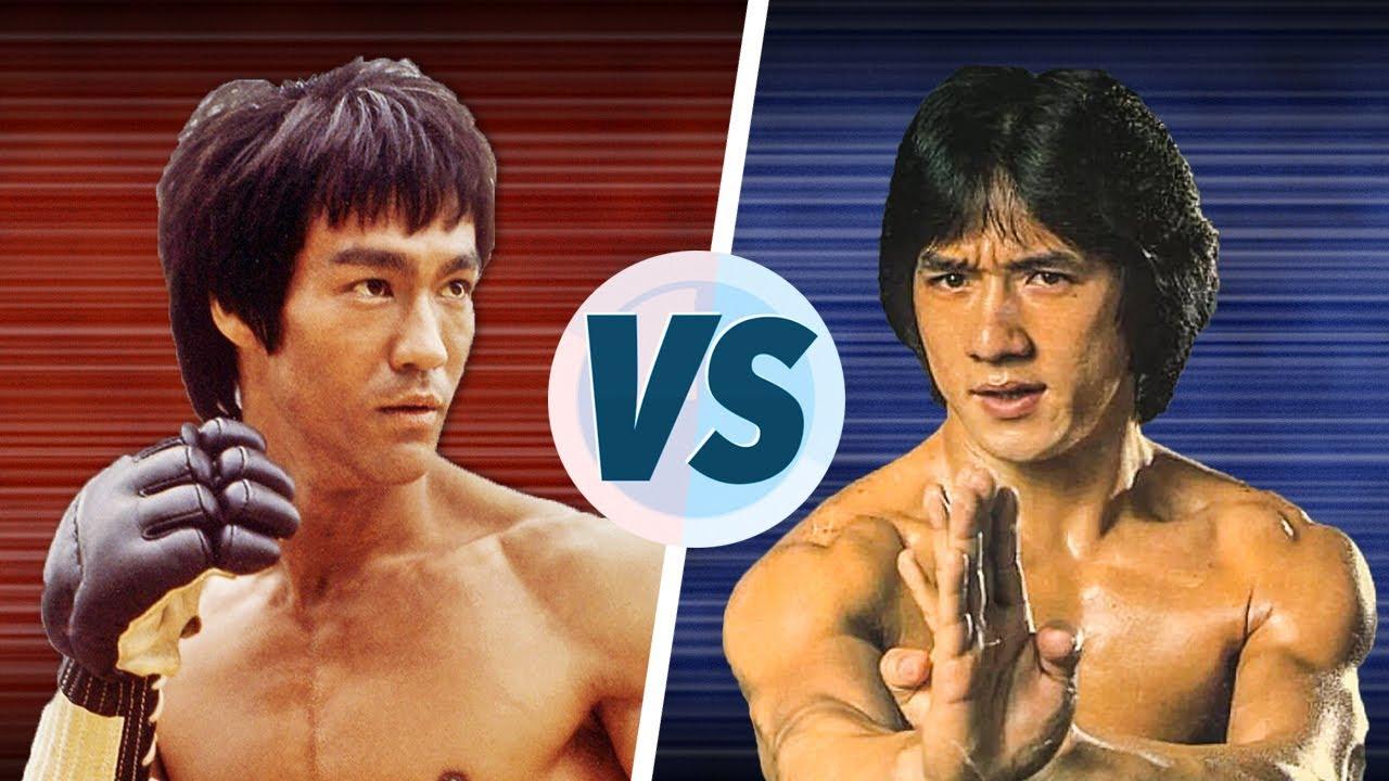 Download Bruce Lee vs Jackie Chan