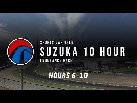 Sports Car Open | 10 Hour Suzuka Endurance | Hours 5-10