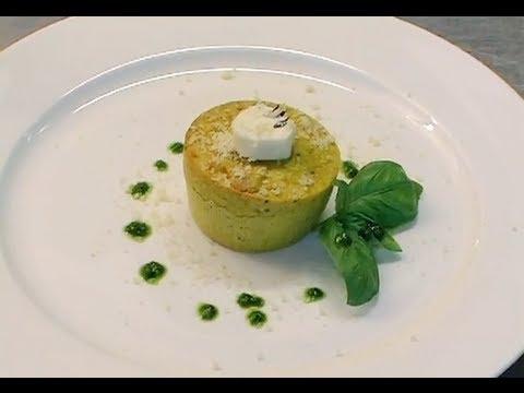 Ricette di cucina flan di zucchine uchef tv youtube for Ricette di cucina