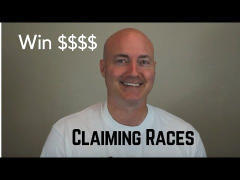 How To Win Money On Claiming Races In Horse Racing