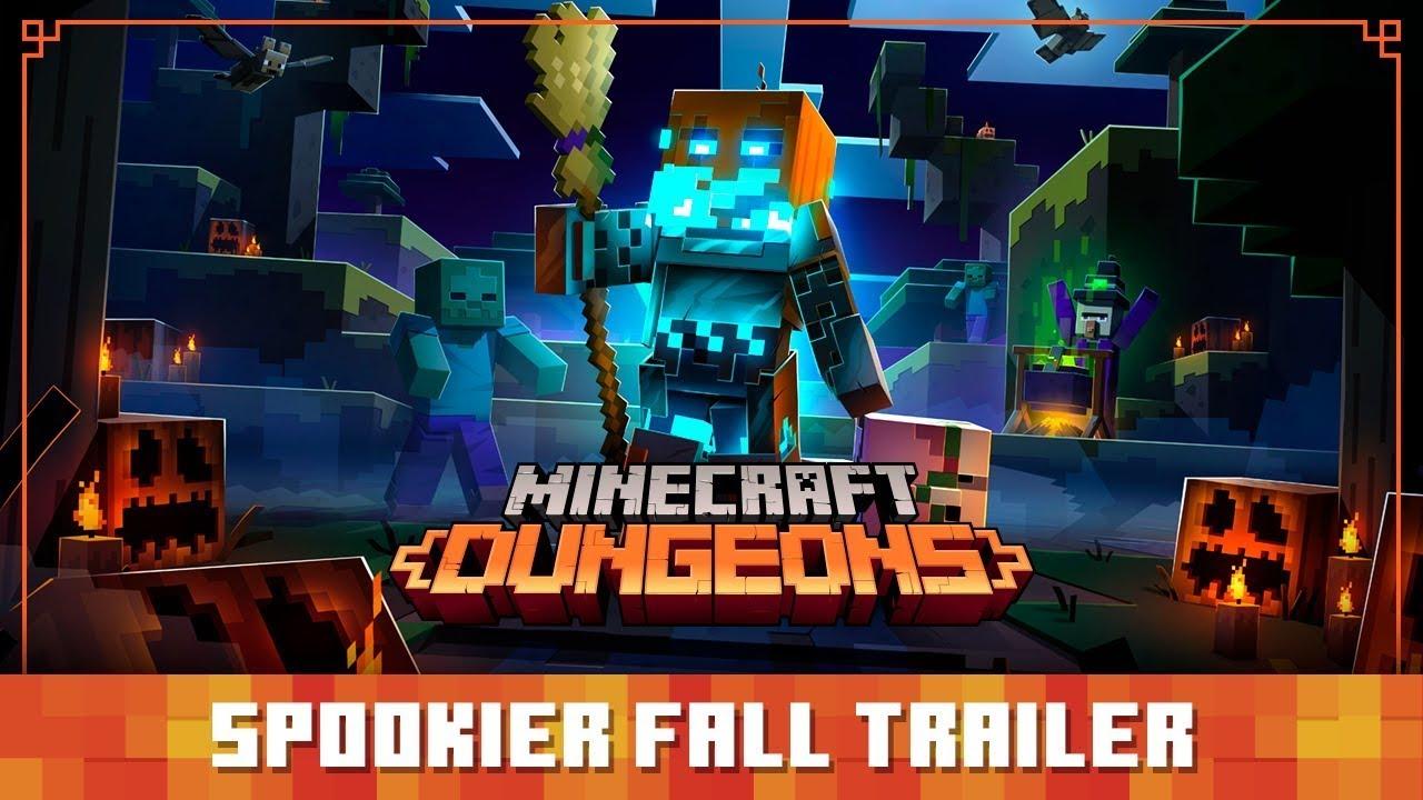 Minecraft Dungeons: より不気味なハロウィンイベント - 公式トレーラー