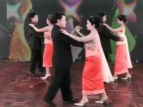 YouTube   Teaching Lao Dance   Begin   จังหวะ บีกิน