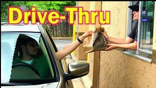 DRIVE-THRU. Cómo ordenar comida/FAST FOOD en inglés!!