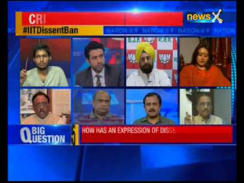 Nation at 9: Did IIT-M seek a explanation from the dissenting students before banning them?