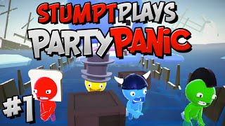 Party Panic - #1 - The Goober Brothers (4 Player Gameplay)