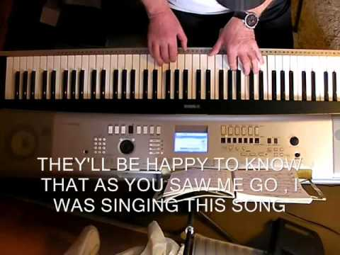 WE'LL MEET AGAIN  (PIANO/LYRICS) -  A SONG FROM 1939  -  WRITTEN BY ROSS PARKER & HUGHIE CHARLES