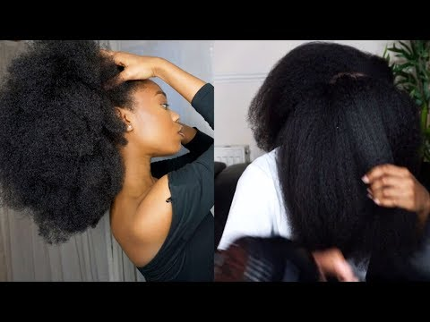 HOW TO | BLOW DRY THICK NATURAL HAIR (NO HEAT DAMAGE) + GIVEAWAY!