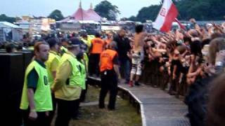 Motley Crue - Tommy and Jaegermesiter and hand shake - Download 2009