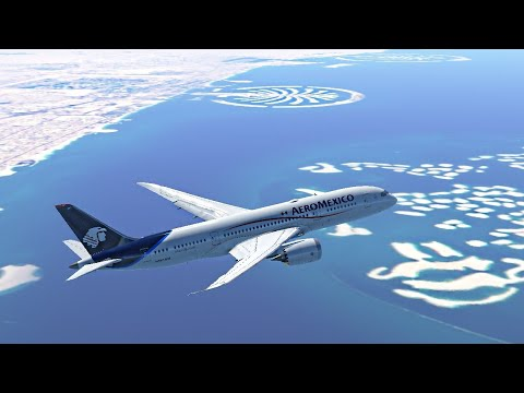 Dubai to bahrain Infinite Flight Simulator Global