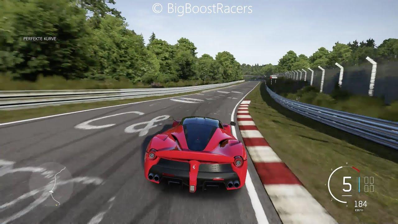 Forza Motorsport 6 Ferrari Laferrari Nordschleife Gameplay