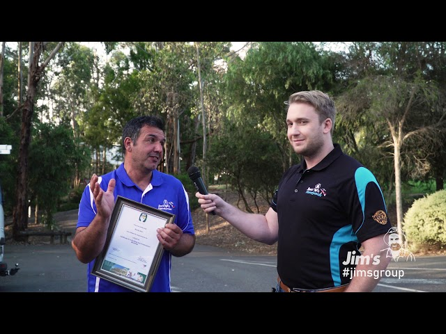 Rocky from Jim's Handyman chats to Joel Kleber about all things Jim's Handyman - 131 546