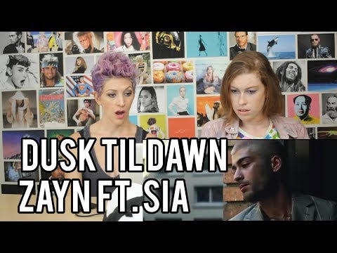 ZAYN ft SIA  -Dusk Til Dawn - REACTION