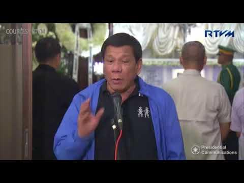 Duterte holds presscon at Libingan ng mga Bayani